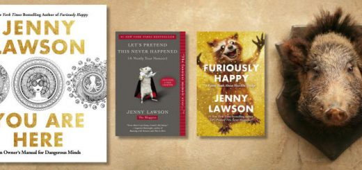 Jenny Lawson Louisville tickets page featured image